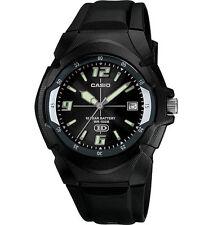 Casio MW600F-1AV, Men's Watch, Black Resin, 100 Meter WR, Date, 10 Year Battery