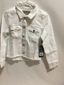 Authentic-True-Religion-Women-039-s-Dari-Boxy-Shirt-Jacket-In-Optic-White-Size-S