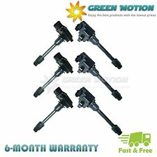 Set of 6 Ignition Coils on Plug Pack For 96-99 Nissan Infiniti Maxima I30 V6