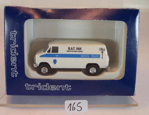 90164 Chevrolet Van Wichita Highway Patrol Polizei OVP #165 Trident 1//87 No