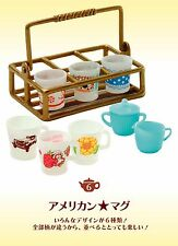 Re-ment Miniature Dollhouse Tea Time Collection cups Tableware RARE NOW #06