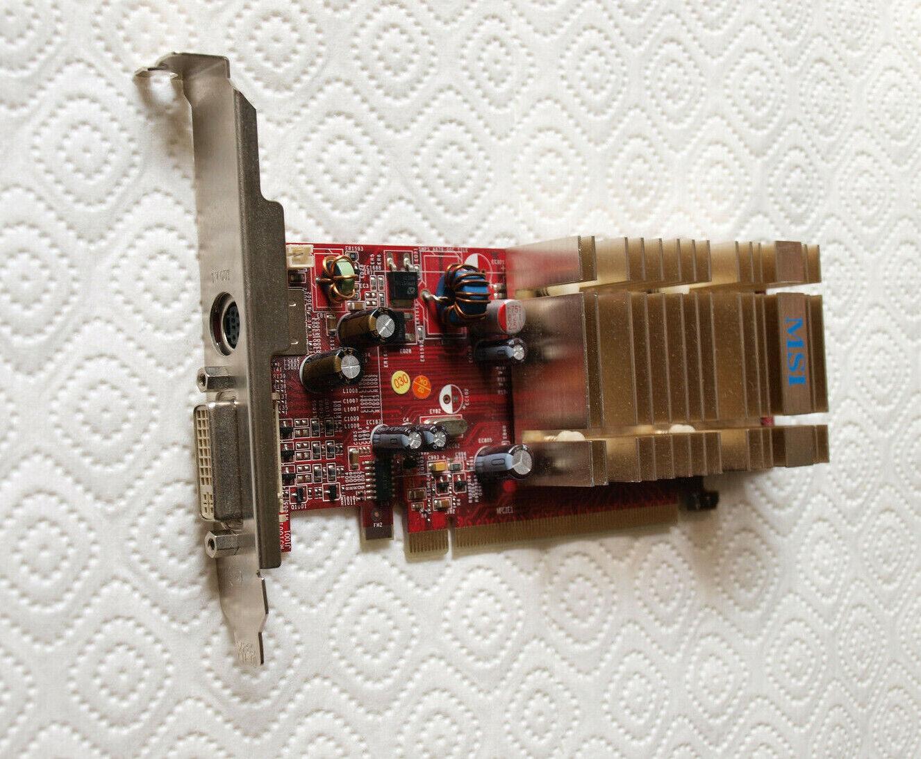 Graphics MSI ATI RX1550