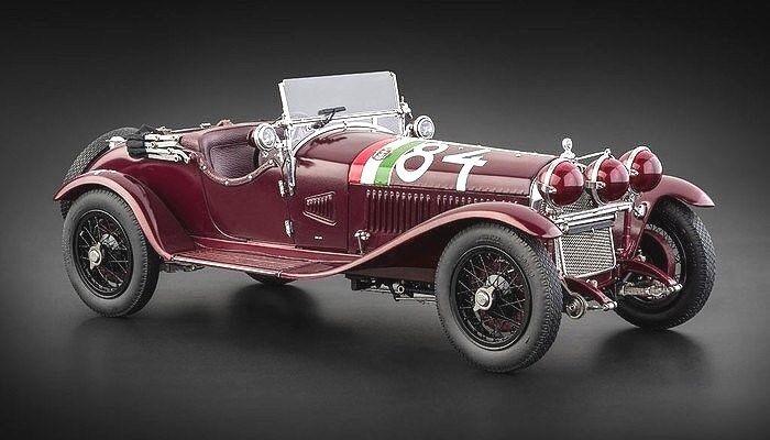 CMC 1:18 1 Alfa Romeo 6C 1750 gran deporte Mille Miglia NuvolariGuidotti M-141