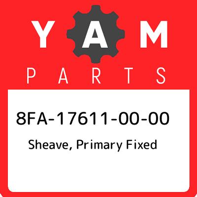 Yamaha 5KM-17611-00-00 SHEAVE  PRIMARY FIXE