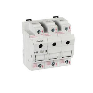 Lasttrennschalter-Neozed-D02-63-A-Neozedelement-Sicherungssockel