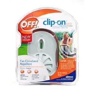 OFF!! Clip-On Fan Circulated Mosquito Repellent -NEW!!