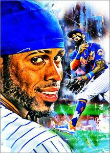 2021-Jose-Reyes-New-York-Mets-7-25-Art-ACEO-Sketch-Print-Card-By-Q