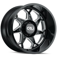 New Listing4 Cali 9111 Sevenfold 20x10 6x55 25mm Blackmilled Wheels Rims 20 Inch Fits More Than One Vehicle