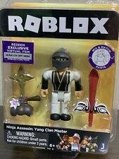 Roblox Ninja Assassin Yin Clan Master Single Figure Core Pack With Exclusive Virtual Item Code Newegg Com Jazwares Roblox Ninja Assassin Yang Clan Master Mix And Match Parts 6 For Sale Online Ebay