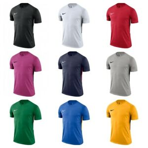 Nike-Pour-Hommes-Football-T-Shirt-Jersey-Tiempo-Premier-Training-Tops-GYM-tshirts