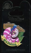 Alice in Wonderland Cheshire Cat Flirting with Madness Spinner Disney Pin 115574