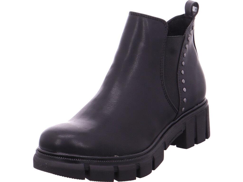 Tamaris Damen Damen Stiefel Stiefelette schwarz