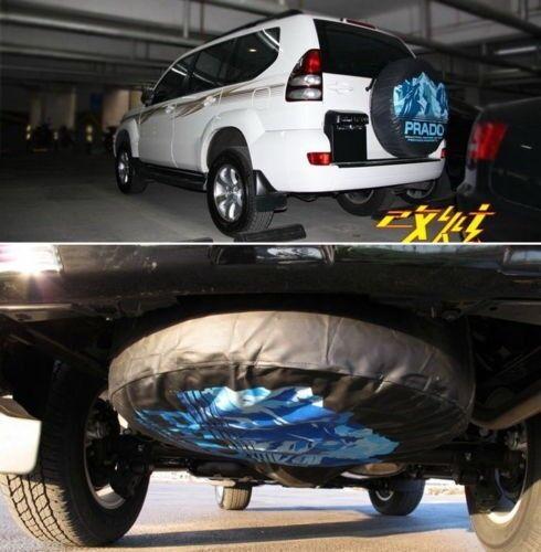 Isuzu mu-X Car Spare Wheel Tyre Tire Soft Case Cover Pouch Bag Protector 30~31 L