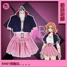 Hot!Anime  RWBY IV Lie Ren Cosplay Costume Green Coat MM.1033