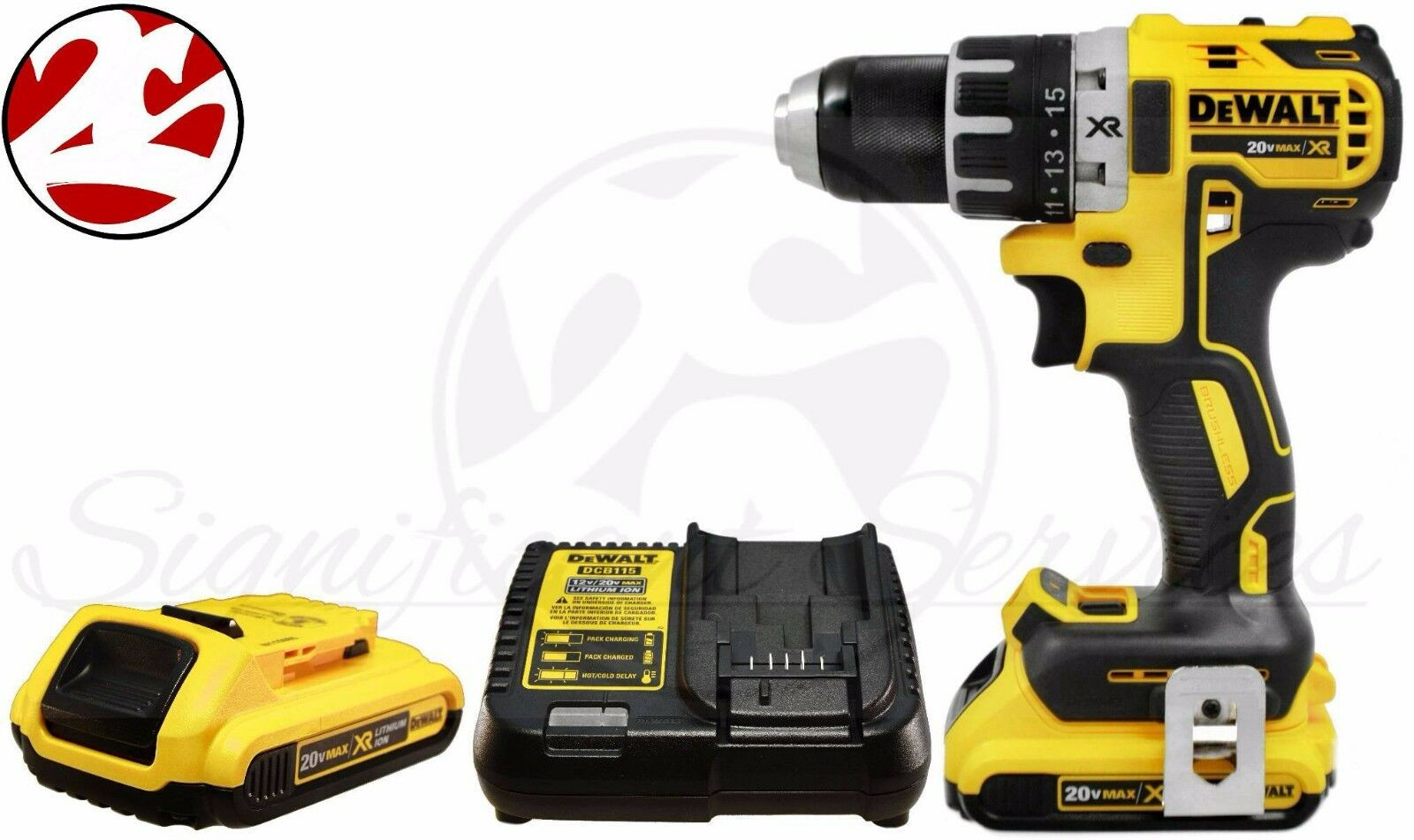 DeWALT DCD791 20V MAX XR Lithium Ion Brushless Cordless 1/2