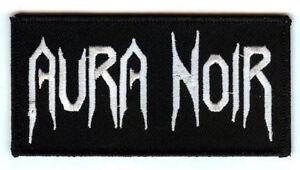 Aura-Noir-logo-patch-Black-Thrash-metal-Norway-Darkthrone-Celtic-Frost-Absu
