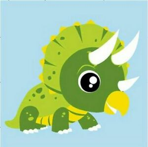Dinosaur For Children Paint By Numbers Kits Kids DIY ...
