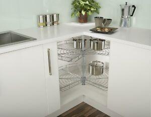 Kitchen 3 4 Corner Carousel 800 900 L Shape Storage Blind