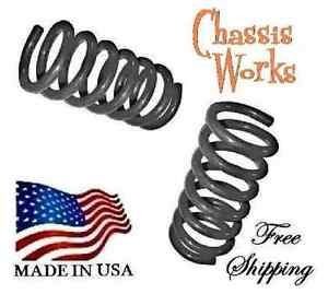 """1995.5-2004 Tacom'a 2WD 2"""" Drop Coils Lowering Springs Lowering Kit"""