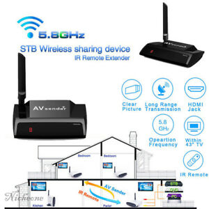 NEW-5-8GHz-HDMI-WIRELESS-AV-Sender-TV-Wireless-AUDIO-VIDEO-Transmitter-Receiver