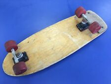 Vintage 1970s British Wooden Skateboard With ACS 651 Trucks & SAL Wheels