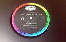 """GEORGE CLINTON (12""""MAXI) """"ATOMIC DOG"""" [RARE 1983 AUSTRALIA CAPITOL ED 58 P.FUNK]"""
