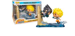 Naruto Shippuden Naruto vs Sasuke GameStop exclusive Anime figures Moments POP