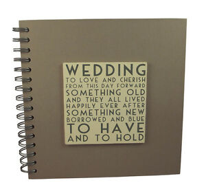 East Of India Wedding Guest Book Vintage Style Sumptuous Quality ...