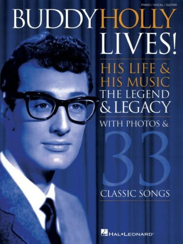 With Photos /& 33 000307053 Sheet Music His Life /& His Music Buddy Holly Lives
