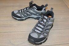 Merrell Moab Mens Gore‑Tex Hiking Shoes Beluga - Size 11.5, Grey