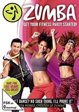 DVD * ZUMBA - GET YOUR FITNESS PARTY STARTED # NEU OVP +