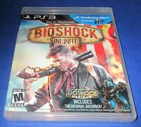 Bioshock Infinite Sony Playstation 3 Factory Sealed Free Shipping
