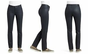 NWT-LAFAYETTE-148-NEW-YORK-WAXED-STRAIGHT-SLIM-WOOSTER-JEANS-0-INK-298