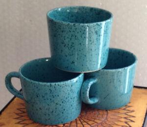 COFFEE-CUPS-Vintage-Signature-Stoneware-Japan-Speckled-coffee-mugs