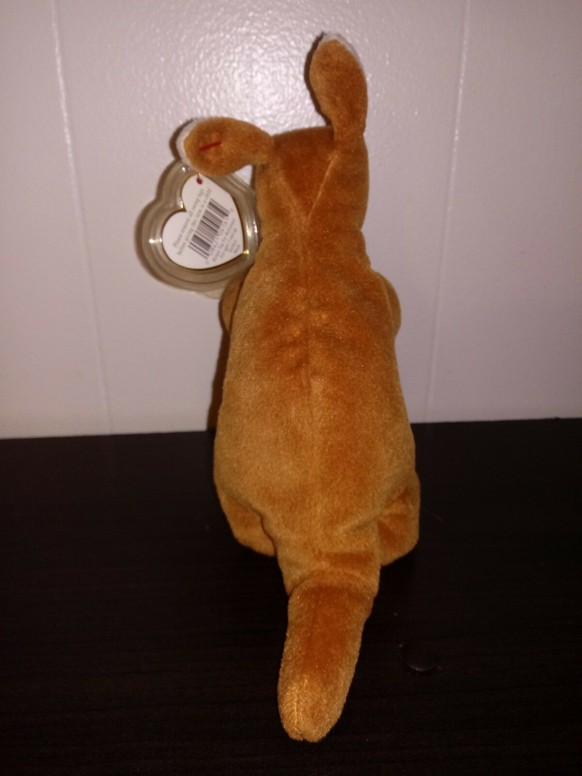 TY beanie baby Pouch Pouch Pouch -Kangaroo brown used 28f9b5