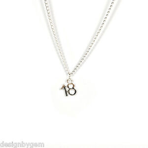 18th-birthday-necklace-gift-silver-plated-chain-diamante-friend-family-sister