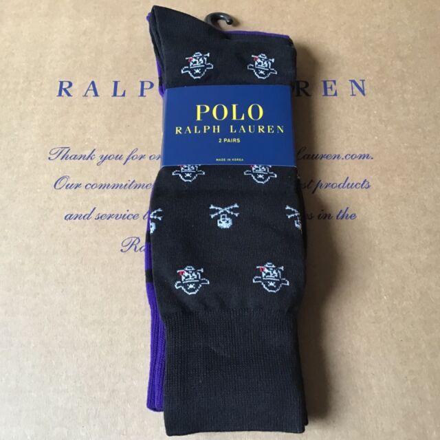 Men's Pk Skull Lauren 2 Socks3 Pirate Ralph Polo XZuikOP