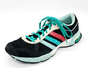 Details about Adidas Marathon 10 Womens Running Shoes Sneakers Size 8 Black Blue Red