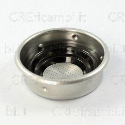 ARIETE braccetto portafiltro con filtro e adattator cialde caffè Moka Aroma 1337