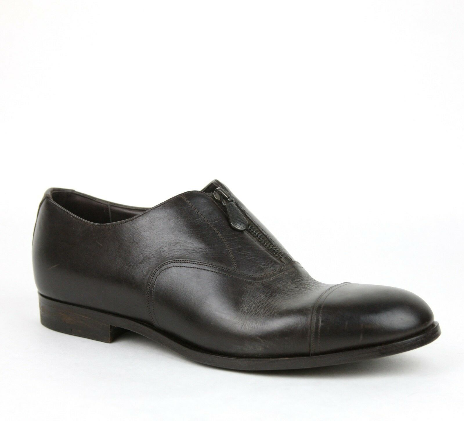 880 New Authentic Bottega Veneta Uomo Pelle Dress Shoe w/Zipper 285653 2006