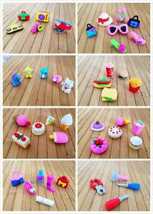Cute Erasers Kids Party Bag Cake Girly Fast Food Handbag Heels