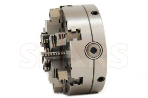 ".0005/"" TIR Certificate NEW 6/"" 6 Jaw Adjustable Self Centering Lathe Chuck"