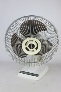 Vintage-Air-King-Lasko-12-034-3-Speed-Table-Top-Oscillating-Fan-Model-1200A-Works
