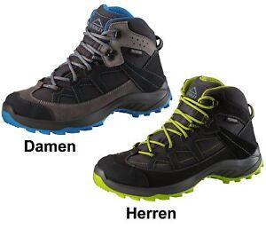 McKinly-Leder-Outdoor-Wander-Trekking-Schuhe-Discover-Mid-Aquamax-Membrane-Neu