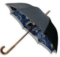 """Starry Night""double sewing long size automatic umbrella 1"