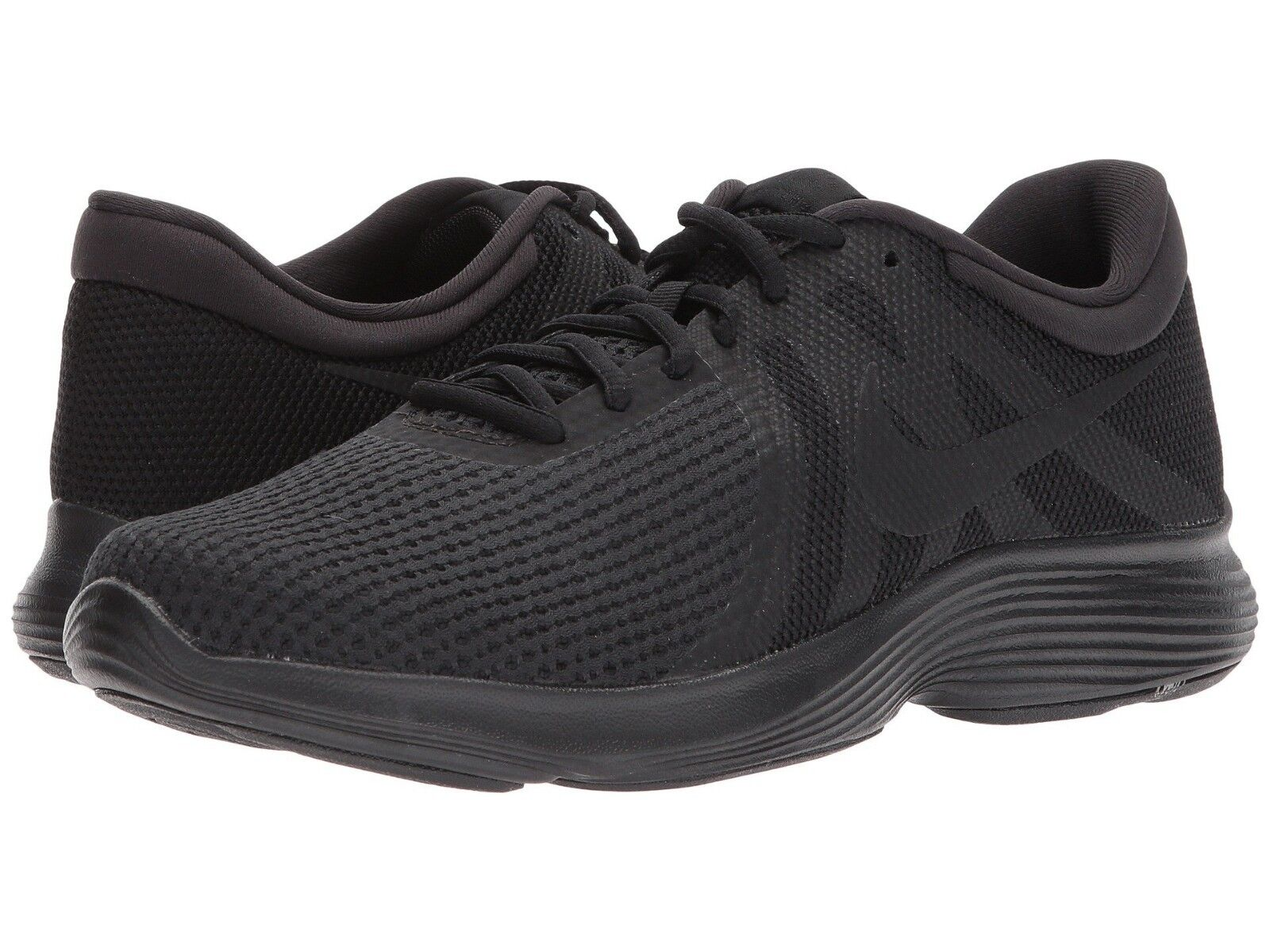 promo code 406b3 fe01c Nike Revolution 4 MENS Black 908988 908988 908988 002 Running Shoes 9 - 13  556b05