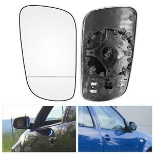 SPECCHIETTO-RETROVISORE-RISCALDATO-VETRO-ARGENTO-lato-sinistro-VW-Golf-MK4-96-04