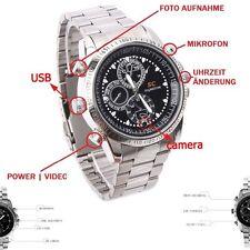 16GB Reloj de pulsera con escondido Mini Spion Cámara Spy hidden Cam Vídeo - A13