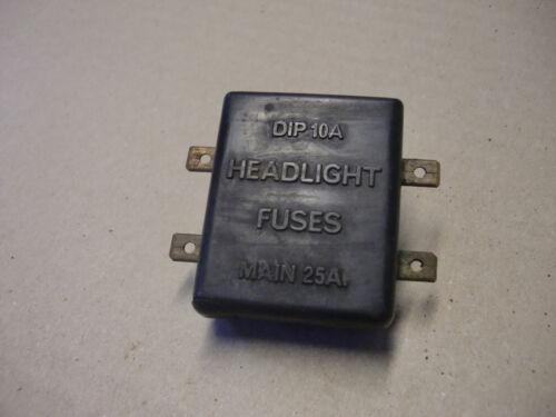 JAGUAR DAIMLER COMPLETE FUSE BOX FITS XJS XJ6//12 SERIES 2 /& 3 C39352