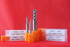 3-Flute-Solid-Carbide-Intercarb-End-Mill-Aluminium-Cutter